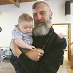 """He's just so darned cute!"" says Rev. Brian"