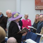 Julie Skippon reads the Gospel for Easter Sunday